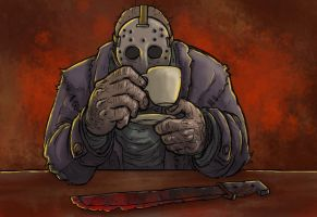 kaffe 02 jason by Drago-the-Dark-Klown