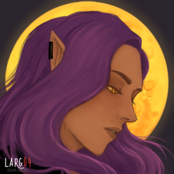 The moon boy by lady-largo