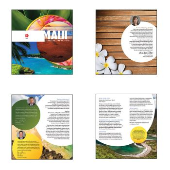 Welcome Booklet-interior spreads (corporate event) by janhalili