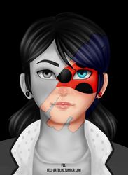 Reveal series Second Version - Marinette by AngelBellator
