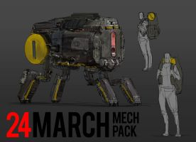 March of Robots 24 by yongs