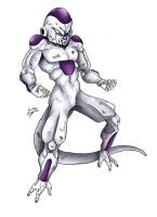 Freeza - 4th Form by TimothyJamesF