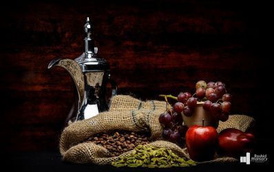 Arabian coffee and fruits by MANSORY