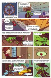 Death Valet Chapter One Page Nine by A-Fox-Of-Fiction