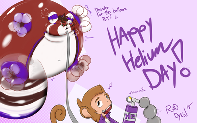 Happy Helium Day! (Ft, BT!) by RadDykal