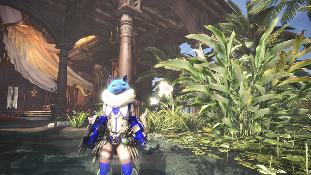(Monster Hunter World) A Nice Day by vaporeon1511