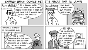 Energy Brain Comics #87: It's About Time To Leave! by EnergyBrainComics