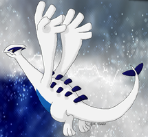 Lugia by crayon-chewer