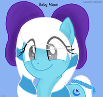 Baby Moon by EmpatheticMortalAnge
