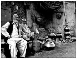 Portraits from Old Delhi 4 by Indiangal