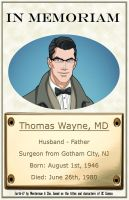 In Memoriam - Thomas Wayne by Roysovitch