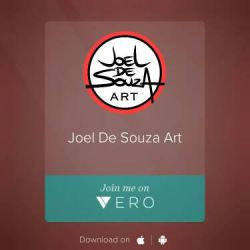 Follow me on VERO! by jfsouzatoons
