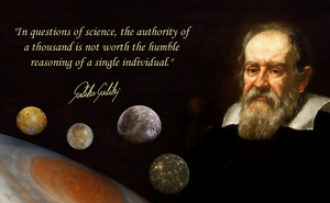 Galileo and Science by HaniSantosa