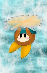 Flying bandana dee by kingofthedededes73
