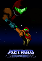 Metroid Genesis Chapter 1 Poster by AraghenXD