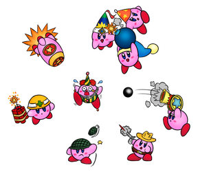 Every Kirby Ever #2 by Colonel-Majora-777