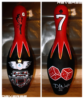 Bowling Pin Number 2 by DLNorton
