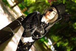 Ciel Phantomhive - Waiting II by LunaSelenium