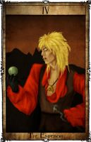 Bowie Tarot Collection - IV - The Emperor by Triever