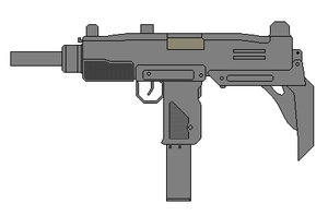Israel Military Industries Uzi by Wxodus
