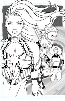 Dazzler #1 Vol. 3 Cover by Lightengale