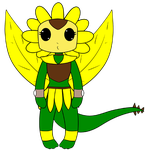 PD - Amber Sunflower by purenightshade