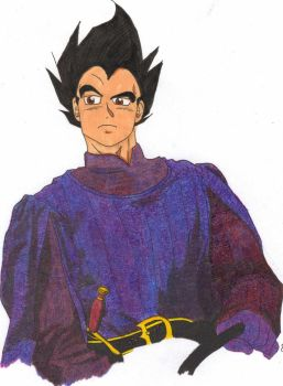 Vegeta as Humperdink by Raharu07