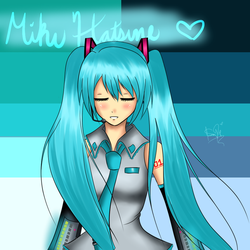 Rinspirit Art 10 8 Miku Hatsune By