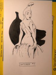Inktober 2017 Day 7 by DanielHooker