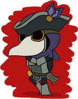 Plague Doctor Lucien by clunse