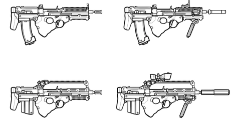 SMG/PDW design by maxviolence