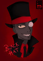 Blackhat by blackrabbitartworks
