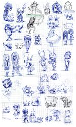 Classtime sketches -End2010 by Parororo