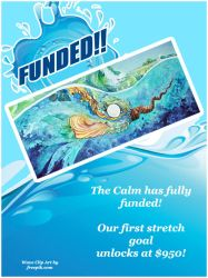 the calm has funded by JessicaMDouglas