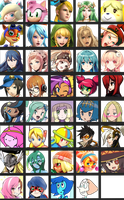 Sergy92's waifu chart V3 by Sergy92