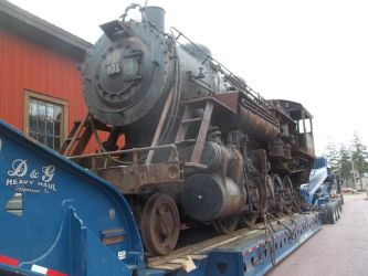 ATandN 401 on the trailer by PRR8157
