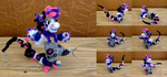 Fully Posable Bagbean Pipe Cleaner Figurine! by Geo-Dragon