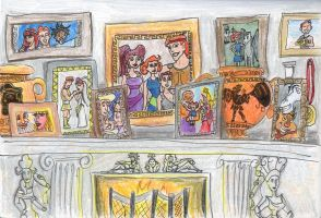 Herc's Family Mantle by RogueDragon
