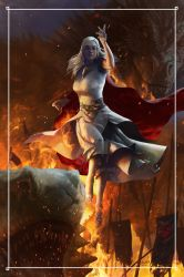 ..Stormborn, Unburnt, First of her name... by scarypet