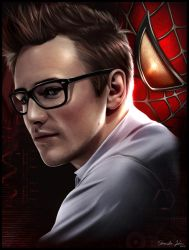 Peter Parker/Spider-Man -Reeve Carney- by Sheridan-J