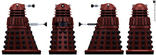 Space Dalek Commander by Librarian-bot
