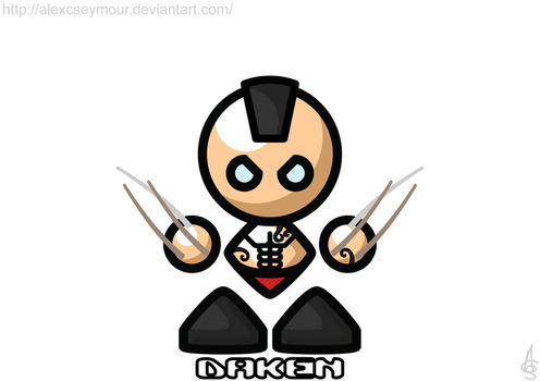 Daken by alexcseymour