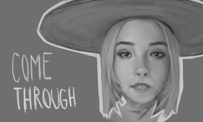 Lydia Night Portrait [The Regrettes] by AndiTheMudkip