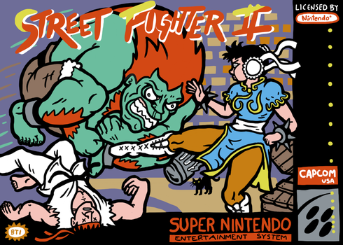 Street Fighter Two by Kyattsuai7