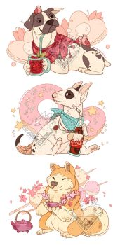 Spring Dogs by morteraphan