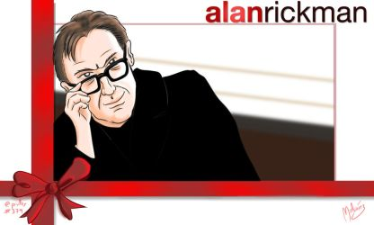 Alan Rickan In Memoriam by zeravlam