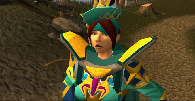 Me at the Battle of Lumbridge by Gread96