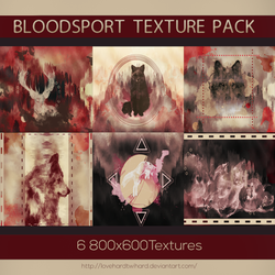 Bloodsport Texture Pack by Lovehardtwihard