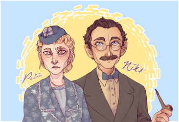 - Mother + Father - by HennaFaunway