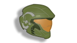 Master Chief's Helmet by AlexAceves30